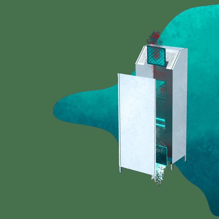Trenner – Filterkette